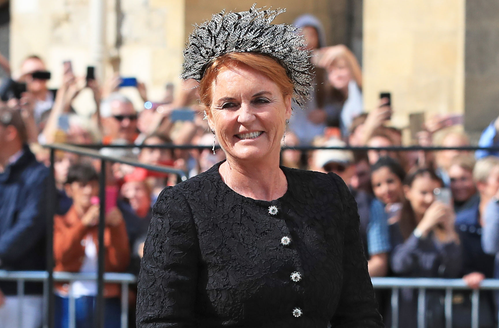 Sarah Ferguson Steals The Show At Ellie Goulding S Wedding Alongside Daughters Princess Eugenie And Princess Beatrice Woman Home As brother and sister, each develops a british love interest, ellen with lord john brindale (peter lawford). sarah ferguson steals the show at ellie goulding s wedding alongside daughters princess eugenie and princess beatrice woman home