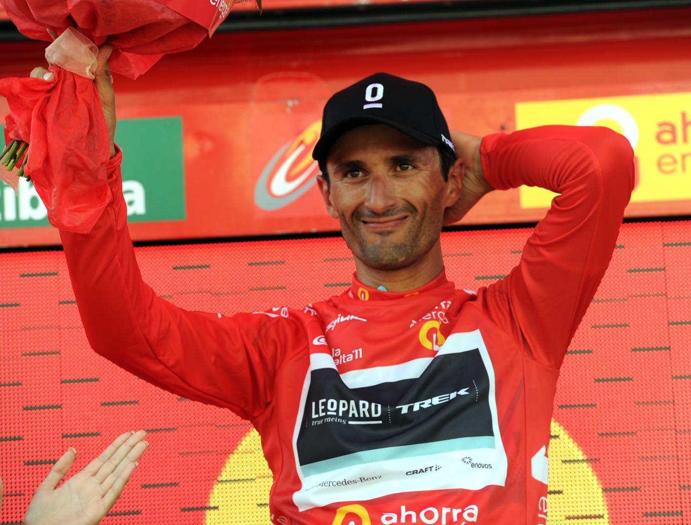 Daniele Bennati leads, Vuelta a Espana 2011, stage two