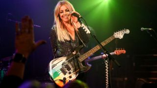 Lindsay Ell performing at the Troubadour on December 07, 2019 in West Hollywood, California