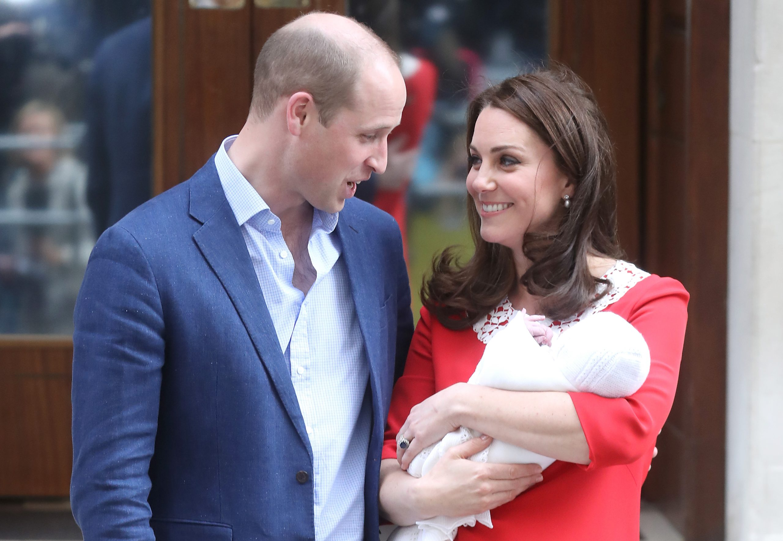 Prince Louis' first word