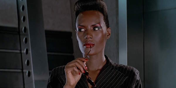 Grace Jones as May Day in James Bond movie A View to Kill