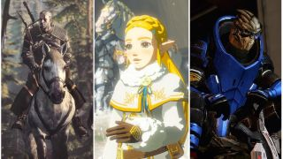 The Witcher 3 / The Legend of Zelda Breath of the Wild / Mass Effect 2