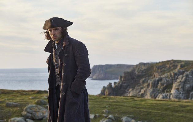Poldark, Aidan Turner as Ross Poldark