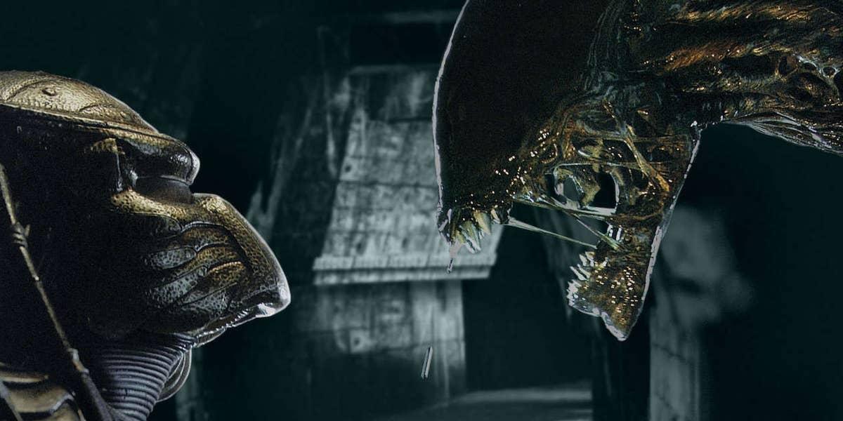 Alien vs. Predator 2004 Paul W.S. Anderson crossover fight movie