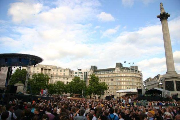 Tour de France 2007 presentation Trafalgar Square