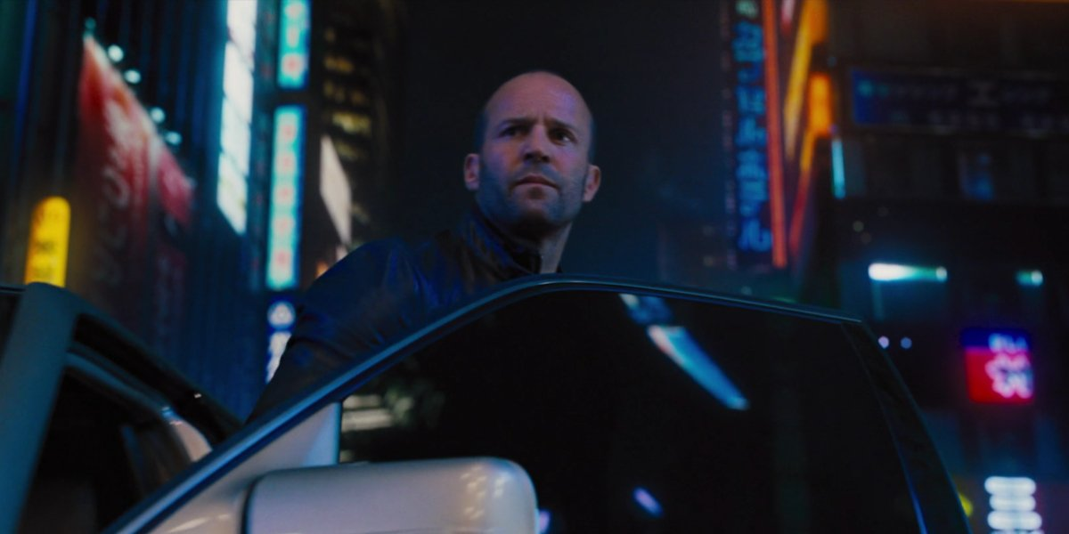 Jason Statham in Fast and Furious 6