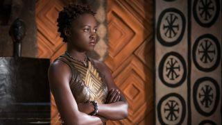 Lupita Nyong'o Black Panther film still