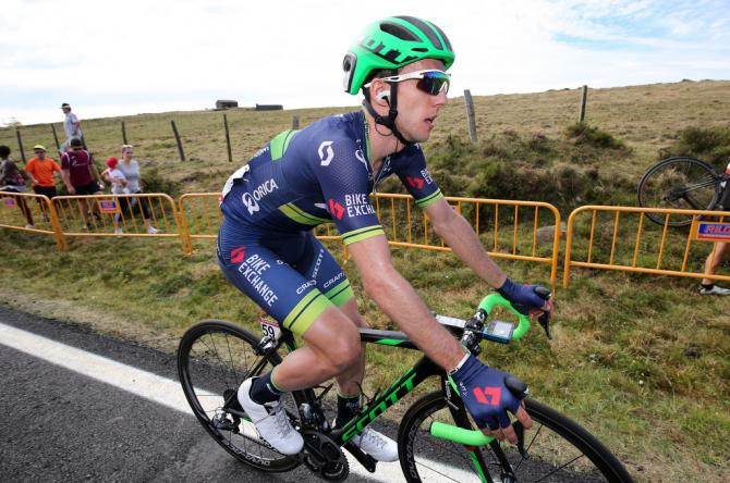 Orica-BikeExchange's Simon Yates after the stage