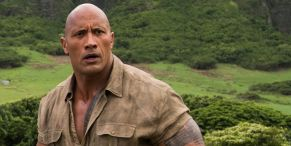 No Big Deal, Just Dwayne Johnson Ripping A Security Gate With Black Adam Might