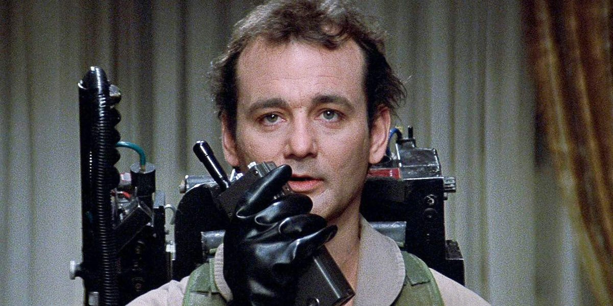 Bill Murray as Dr. Peter Venkman in original Ghostbusters