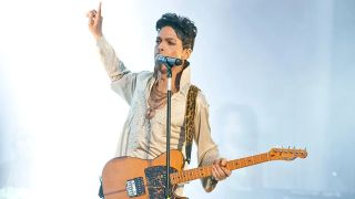 Prince performs live