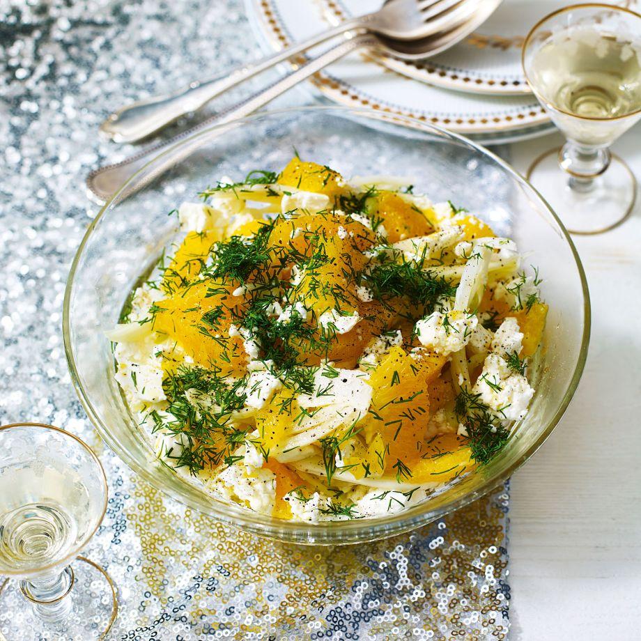 Fennel, Feta and Orange Salad Recipe picture