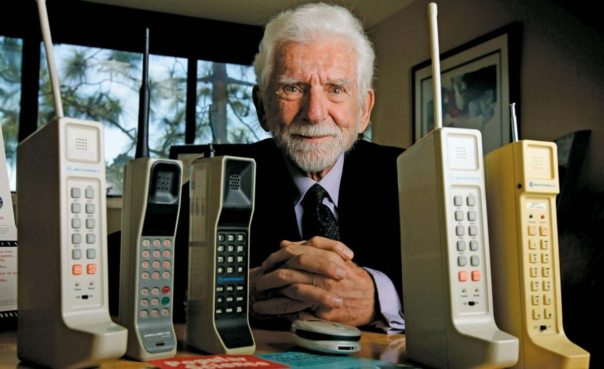 How the cell phone changed lives... by its inventor