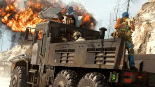 CoD Warzone's armoured truck