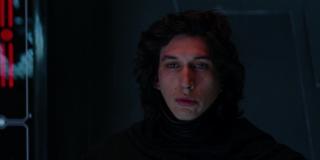 Adam Driver in The Force Awakens