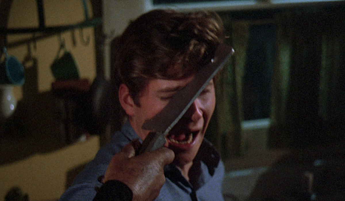 friday the 13th crispin glover cleaver to the face