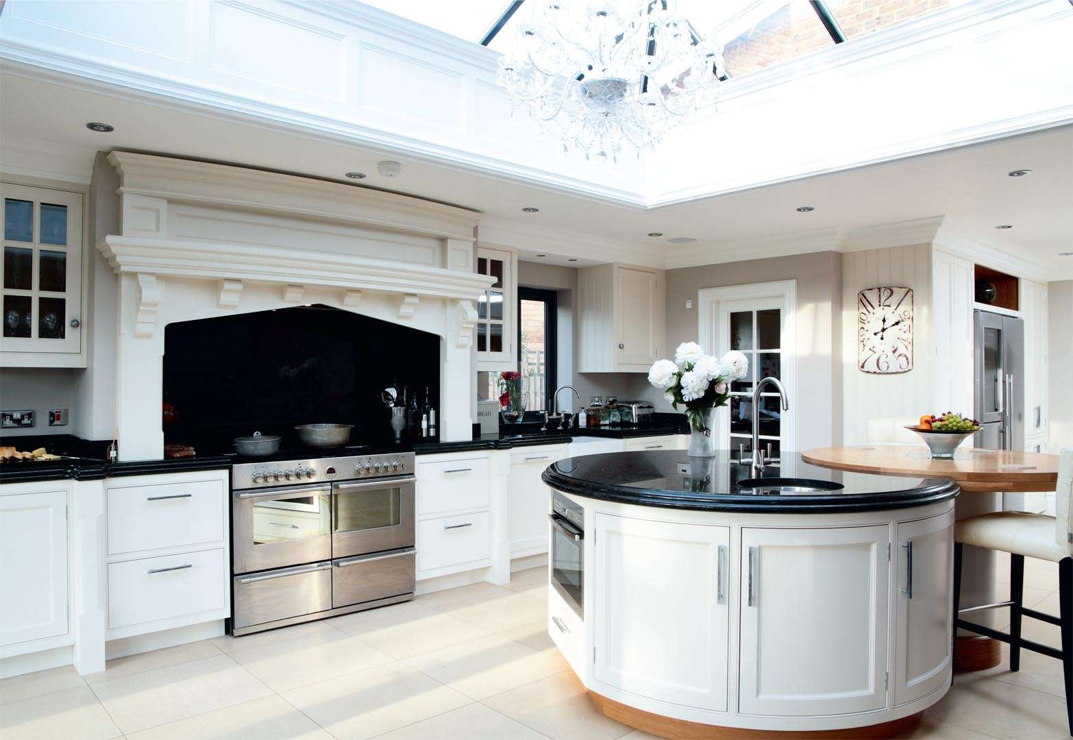 A light-filled kitchen extension with a glass roof | Real Homes