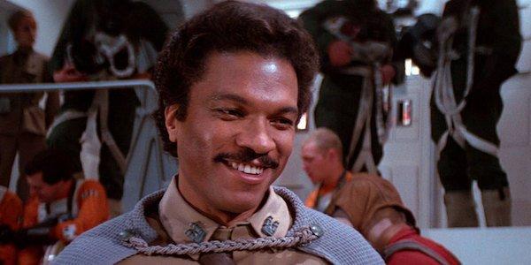 Lando in Return of the Jedi