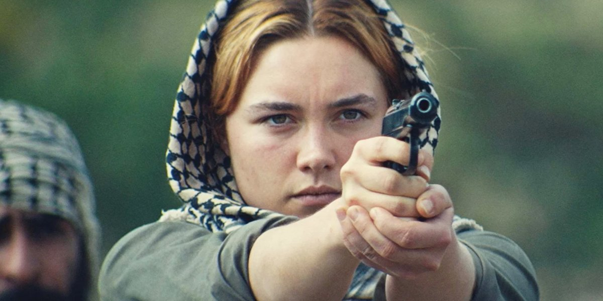 Florence Pugh as a spy in the miniseries The Little Drummer Girl