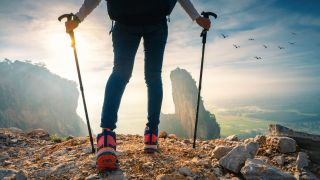 best trekking poles: epic trekking pole shot