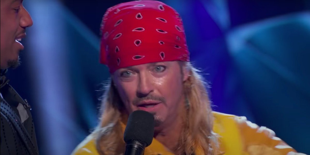 Brett Michaels As The Banana on The Masked Singer