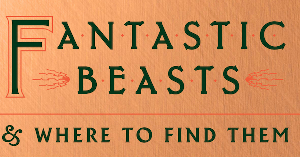 Fantastic Beasts and Where To Find Them bonus book