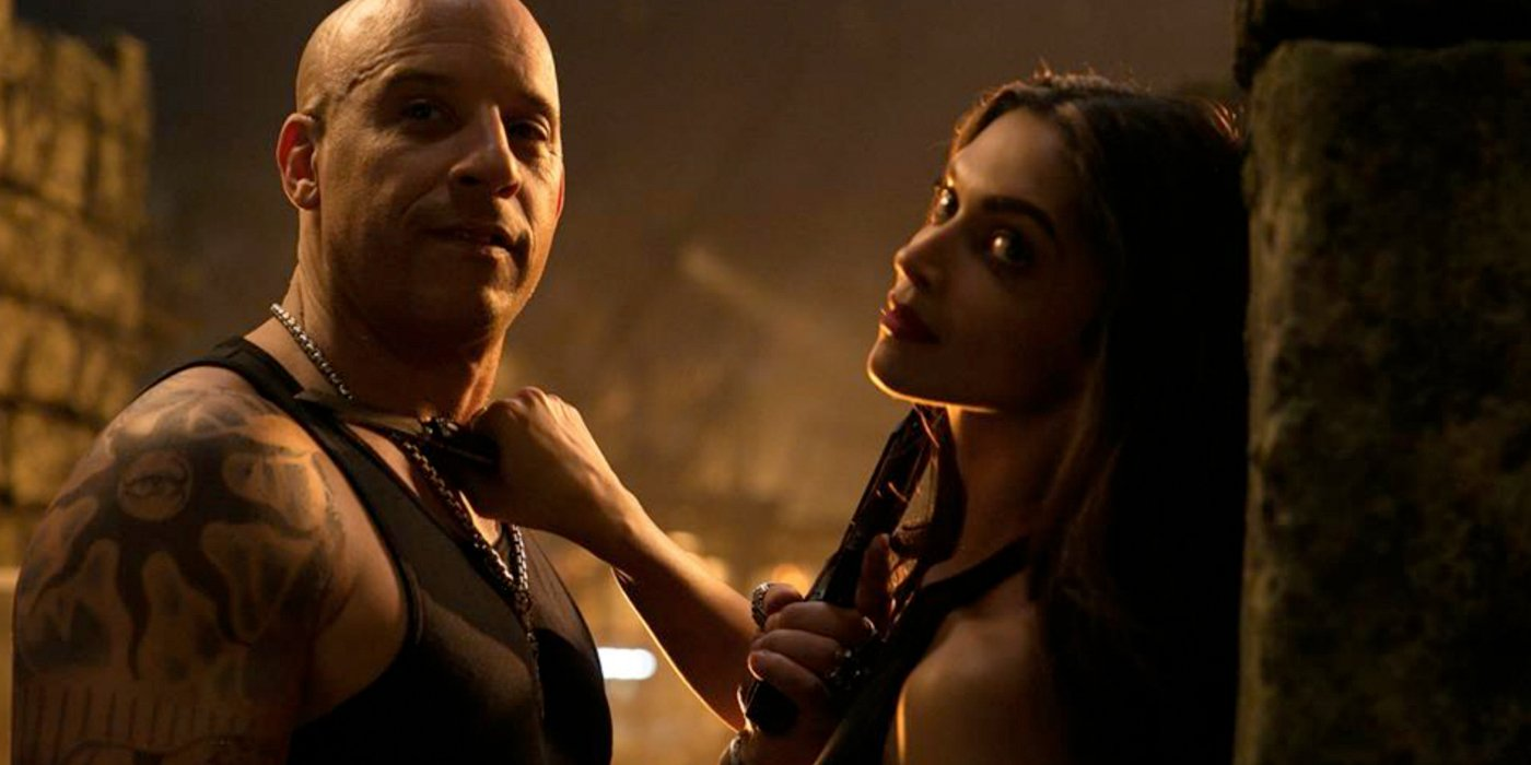 xXx: The Return of Xander Cage Xander and Serena holding each other up with weapons