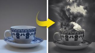 How to create a fantastical storm in a teacup with Photoshop CC