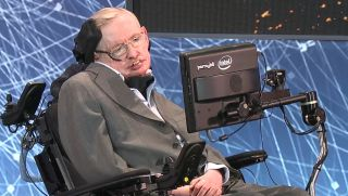 Stephen Hawking at the Starshot conference