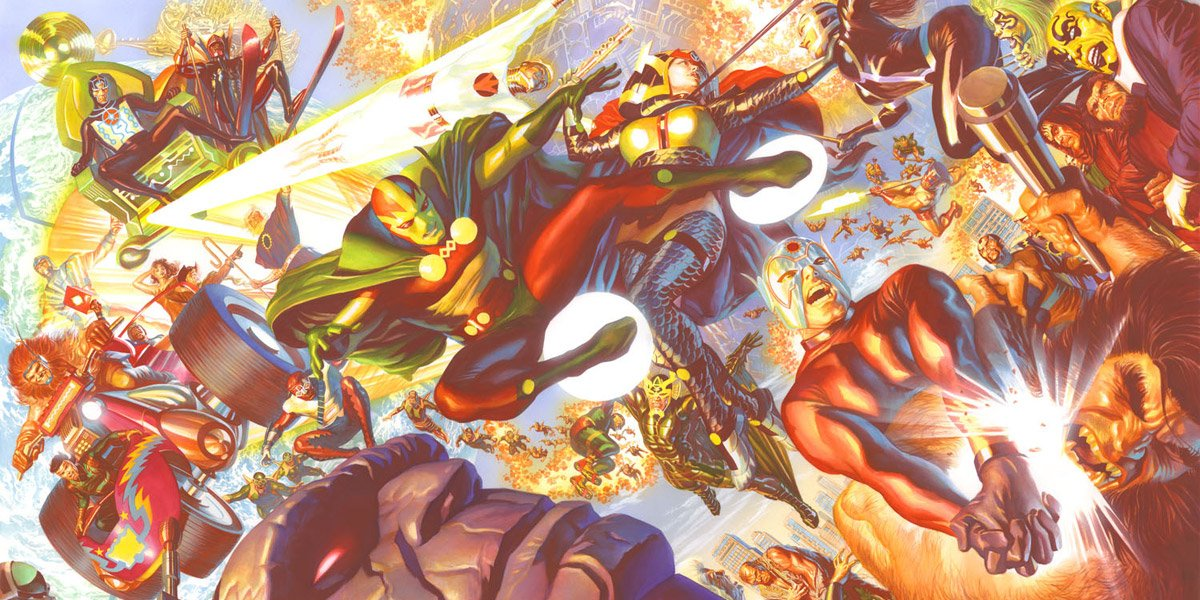 New Gods artwork by Alex Ross