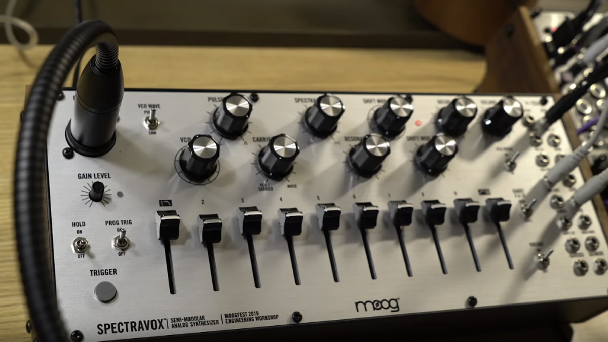 The Moog Spectravox has landed, but will you ever be able to buy it