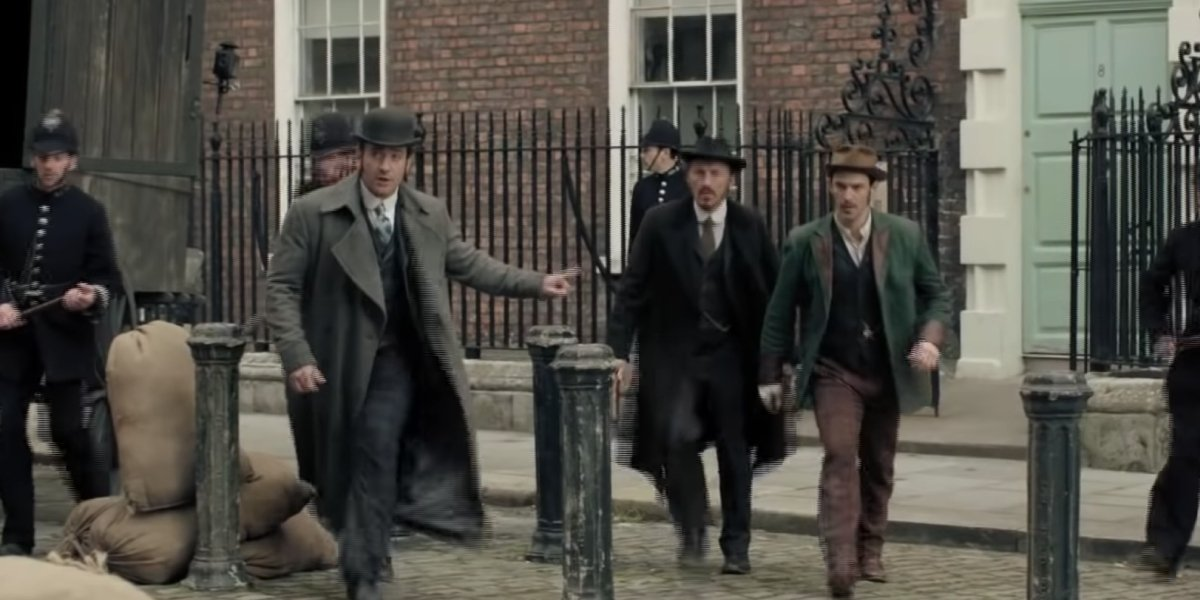 The cast of Ripper Street