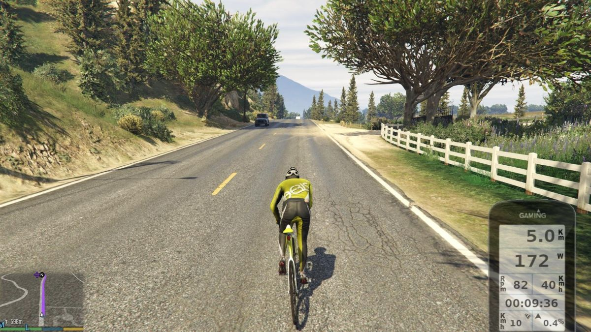 You can now take a leisurely ride through Los Santos with this GTA 5 bike controller mod