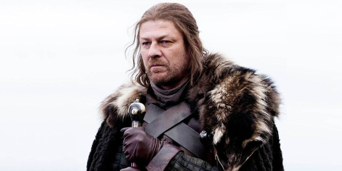 game of thrones series premiere ned stark ice sean bean hbo