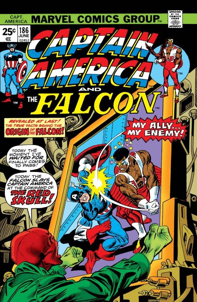 How a classic '70s story set the stage for Sam Wilson to go from Falcon to Captain  America | GamesRadar+