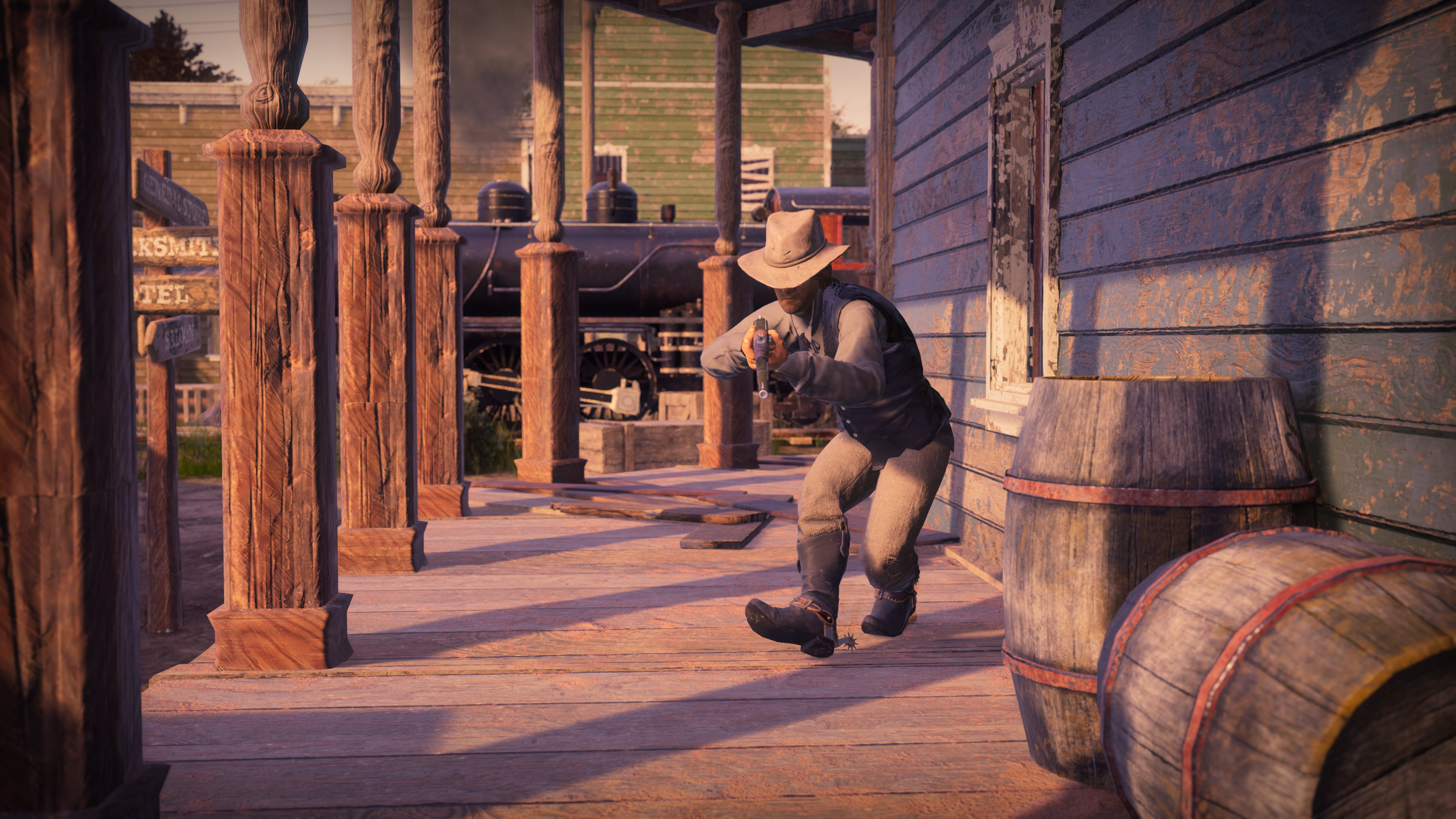 Play the free beta of a new wild west battle royale this weekend
