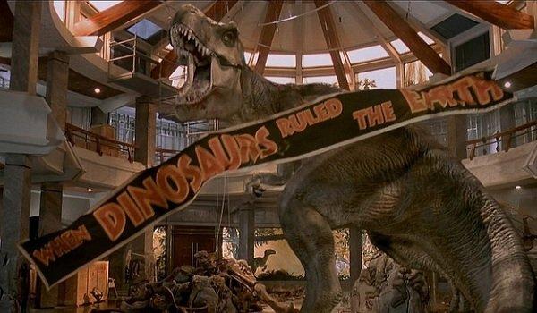 Jurassic Park Rexy's triumphant roar