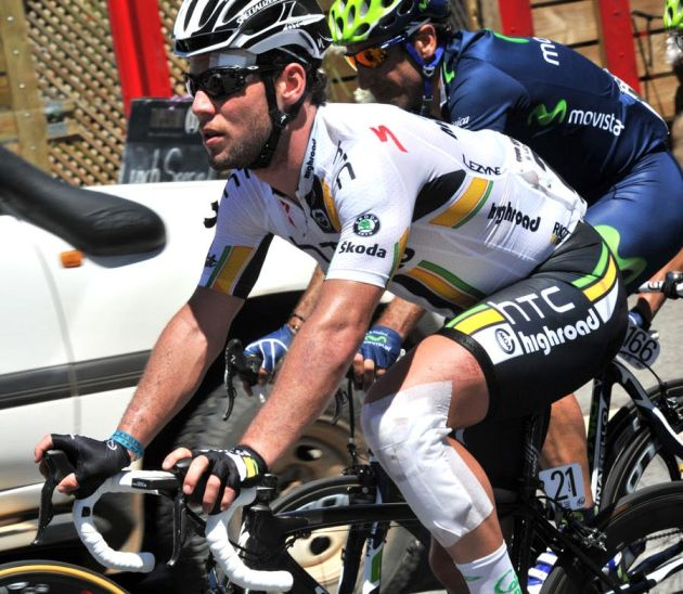 Mark Cavendish, Tour Down Under 2011, stage three