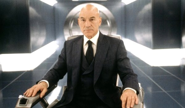 Patrick Stewart as Charles Xavier X-Men Marvel Fox