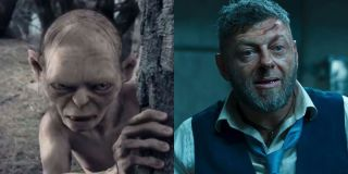 Gollum and Andy Serkis Side by Side