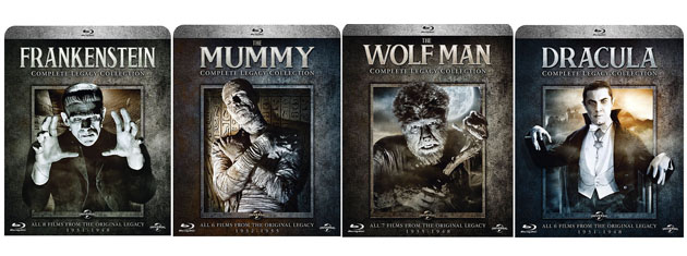 Universal Monsters Complete Legacy Collections