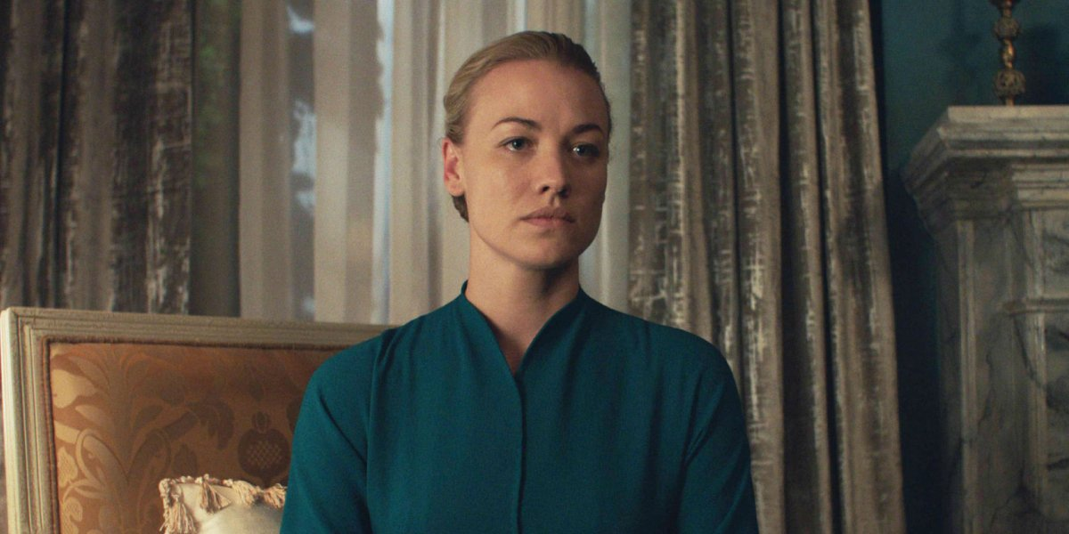 Yvonne Strahovski in The Handmaid's Tale