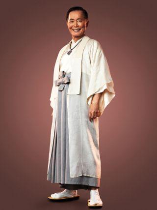George Takei: Star Trek's Mr Sulu turns Ninja!