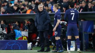 Jose Mourinho Oliver Skipp Tottenham