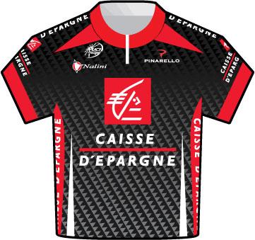 Caisse d'Epargne Tour de France 2009 jersey