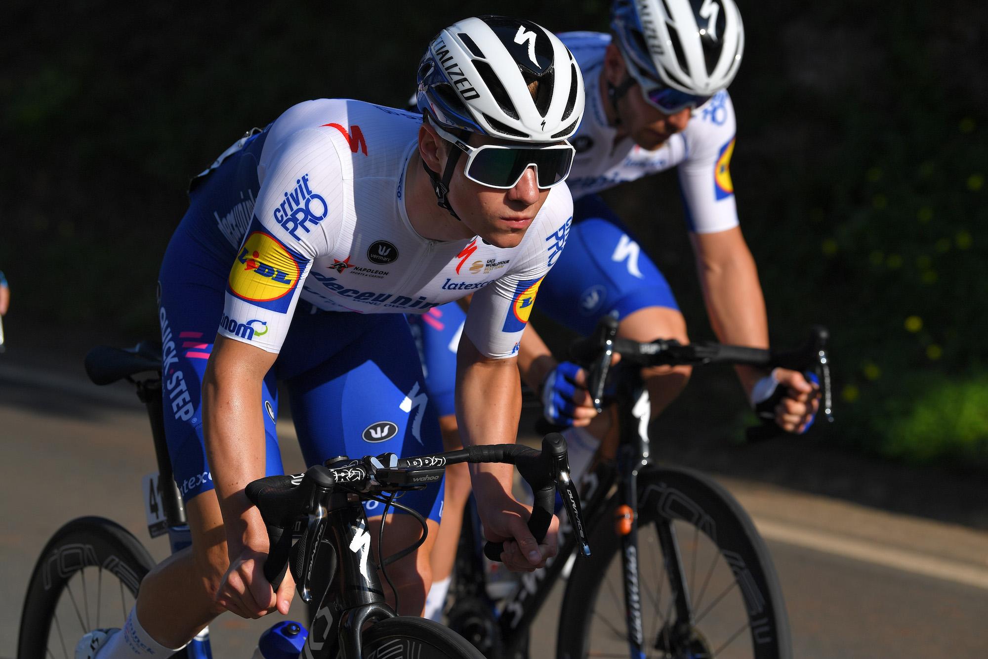 Remco Evenepoel dedicates Algarve stage win to fellow Belgian rider whose son died last week - Cycling Weekly