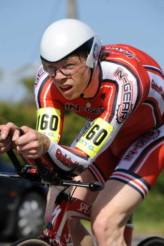 Michael Hutchinson National 10 time trial 2009