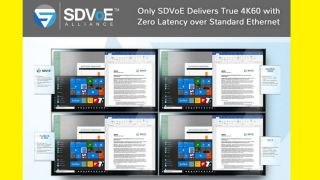 "SDVoE Alliance ""Zero Latency"" Demos at InfoComm"