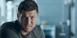 Video Of Tim Tebow Meeting An 89-Year-Old Superfan Is Too Cute For Words