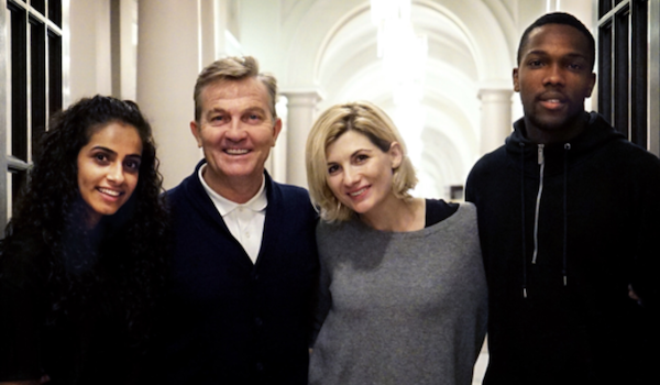 Mandip Gill Bradley Walsh Jodie Whittaker Tosin Cole Doctor Who The BBC